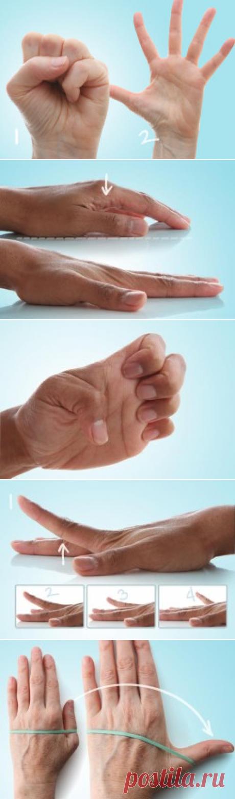 Упражнения при артрозе суставов пальцев рук (фото)
