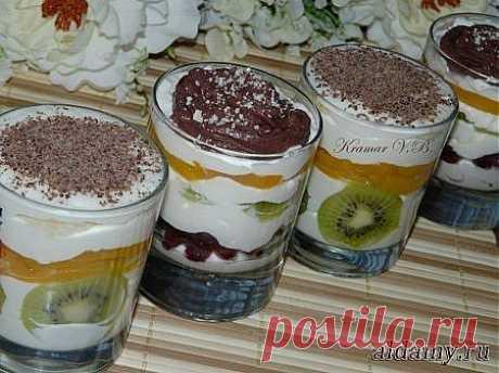 Десерт творожный » Любимые рецепты
