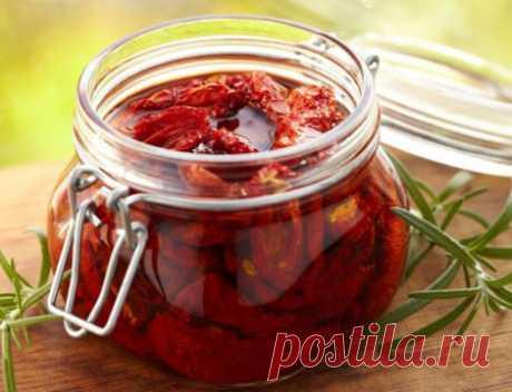 Как сушить помидоры в домашних условиях