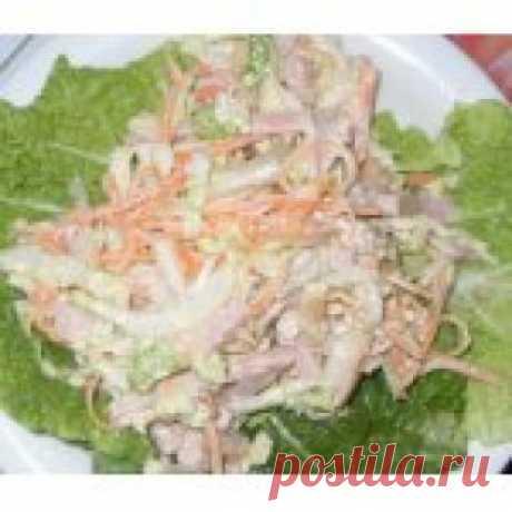 Салат «Анастасия» Кулинарный рецепт