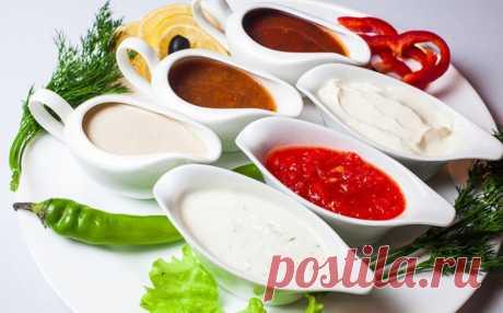 Как сделать соусы на любой вкус