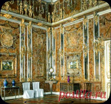 Русское барокко:Большой Екатерининский дворец.Часть 2.Янтарная комната