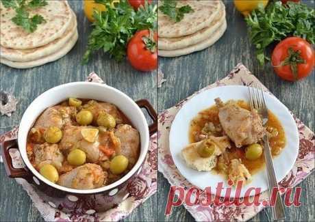Как приготовить курица по-средиземноморски - рецепт, ингридиенты и фотографии