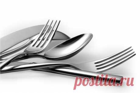 Уход за столовыми приборами: 8 коротких, но полезных советов — Полезные советы