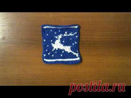 """Сапожки-носочки на двух спицах МКСапожки-носочки""""Новогодняя звезда""""МК//Размер 37-38ОЛЕНИ. Жаккардовый узор. Новогодний узор. #мастеркалсс #красивыйузор  #knitting #лучшее #мк"""