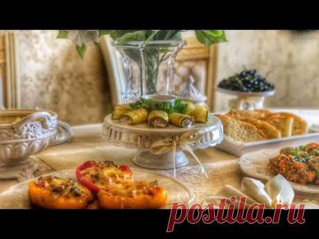 УЖИН-ОБЕД, закуска из кабачков , фаршированный перец, голубцы БЫСТРО И ВКУСНО 😋 #УЖИН #ОБЕД
