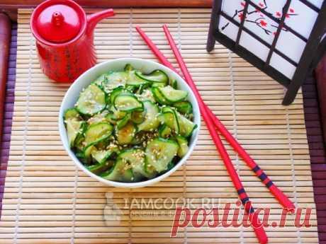 Суномоно – японский салат из огурцов, рецепт с фото