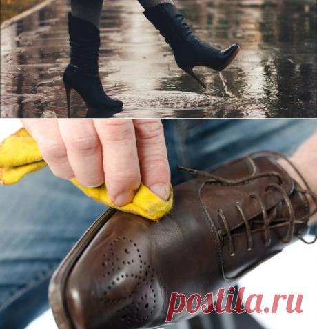 Чем пропитать обувь от промокания: профессиональные и народные средства