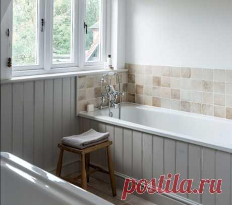Чем можно отделать ванную кроме плитки: 6 удачных вариантов - Квартира, дом, дача - медиаплатформа МирТесен