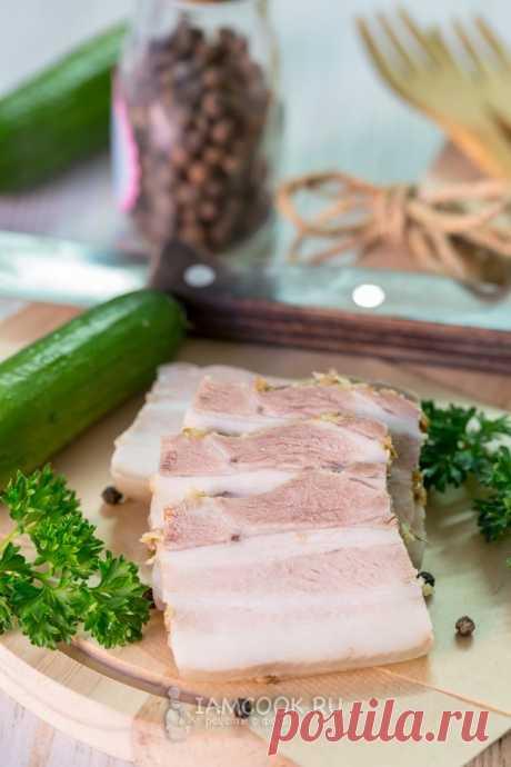 Вареное сало — рецепт с фото пошагово. Как приготовить вареное сало в домашних условиях?