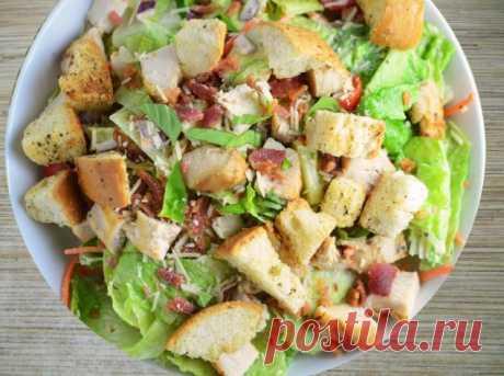 Рецепт салата «Хрустящий» из сухариков, капусты и курицы | Повар из Ставрополя | Пульс Mail.ru