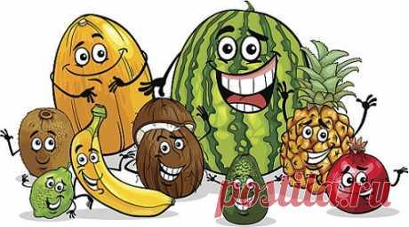 La psicología de frutas; ¡) | Siempre en forma!