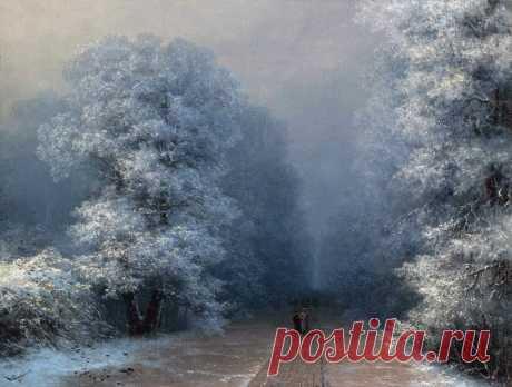 Зимние пейзажи И.Айвазовского