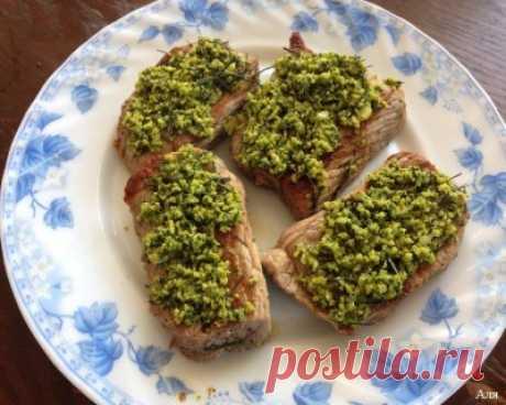 Говяжий стейк с гремолатой (подходит под диету Дюкан) : Вторые блюда