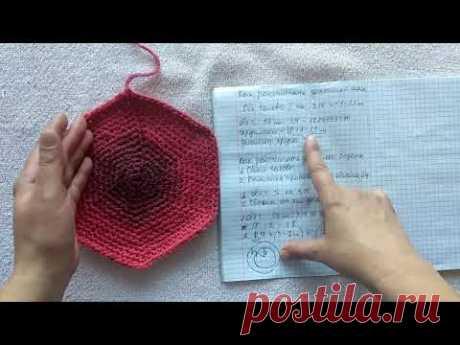 Как рассчитать донышко шапки и берета