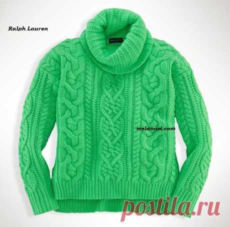 Детские вязаные свитера от Ralph Lauren   Вяжем с Лана Ви