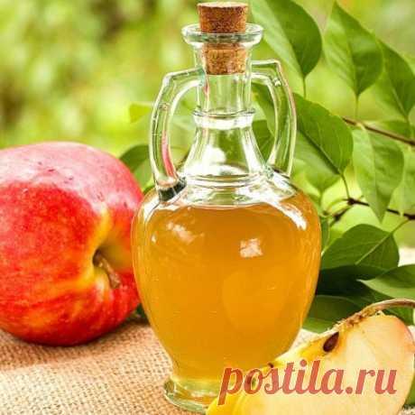El vinagre de manzana sobre el guardián de la belleza, la salud y la limpieza