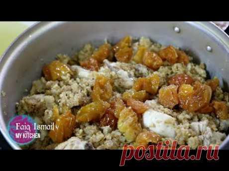 Фисинджан с курицы и грецким орехом Азербайджанская кухня