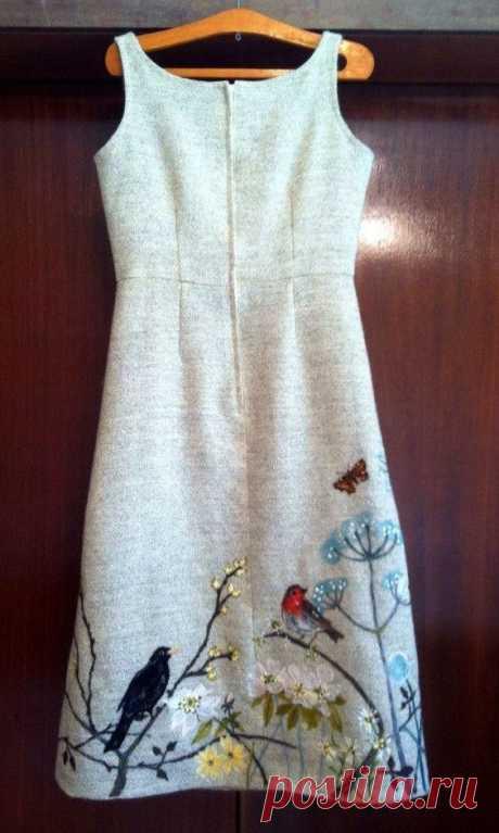 17 ярких и стильных идей вышивки на одежде