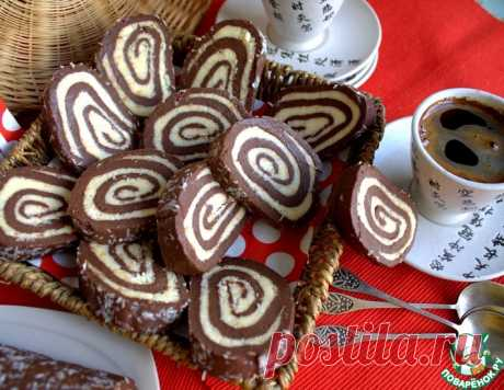 Рулет-десерт без выпечки – кулинарный рецепт
