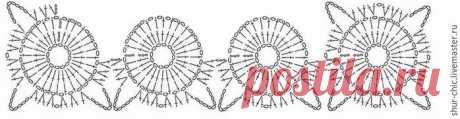Принцип вязания крючком мотивов безотрывным способом (Уроки и МК по ВЯЗАНИЮ) — Журнал Вдохновение Рукодельницы