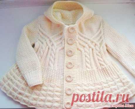 Опрос:Пальто для девочки - Вязание - Страна Мам