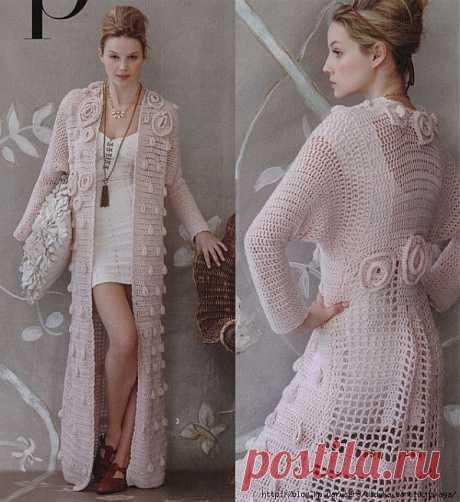 Rose duster (VK Crochet 2012).