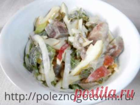 Herring salad So simple on structure and in preparation herring salad has tremendous taste. This useful and tasty dietary herring dish is always popular at a table