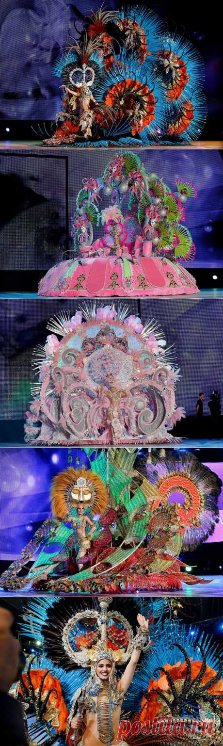 Королева карнавала Санта-Крус-де-Тенерифе 2014 | В мире интересного