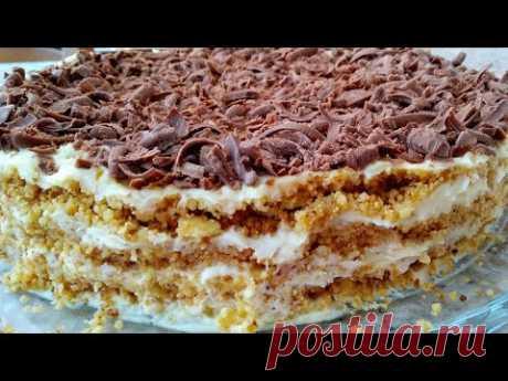 Торт Без Духовки Без Печенья ОБАЛДЕННО ВКУСНЫЙ ТОРТ **ТОРТ ПЛОМБИР