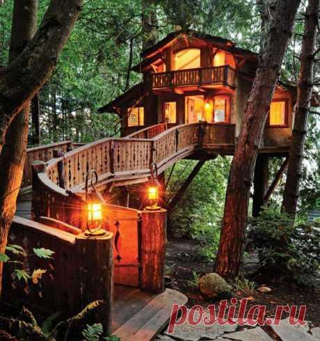 Загородный домик мечты - Национальный парк «Олимпик» (шт. Вашингтон, США)