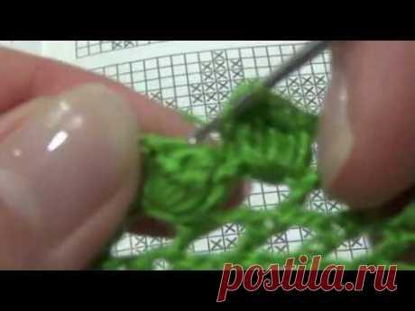 Филейное вязание 2 часть