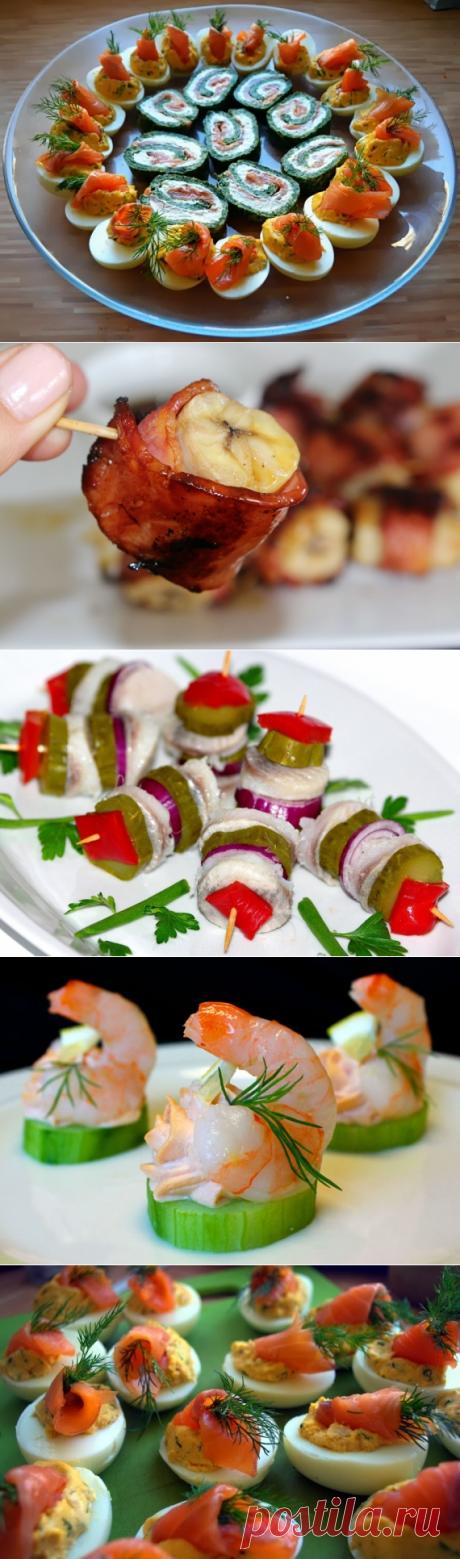 Рецепт Закуски на Новый год 2016 - пошаговый рецепт приготовления с фото | Закуски и бутерброды | La-Minute - кулинарные рецепты