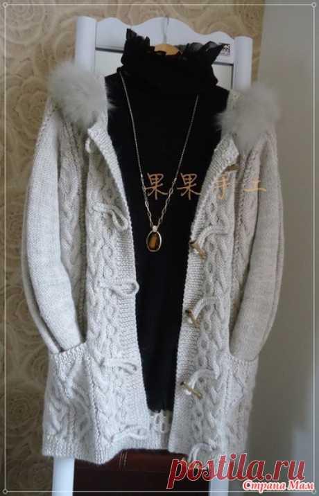 Арановое пальто. - Вязание - Страна Мам