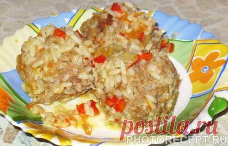 Фарш с рисом - рецепты вкусных блюд