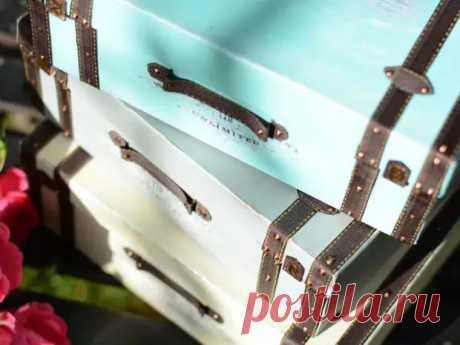 Видеоурок: декорируем обувные коробки - Сам себе мастер - медиаплатформа МирТесен