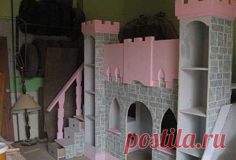 Сказочный замок для маленькой принцессы | МАСТЕРА