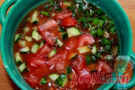 Томатная окрошка. Интересный рецепт окрошки на томатном соусе