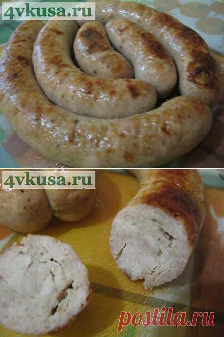 Колбаса домашняя куриная | 4vkusa.ru
