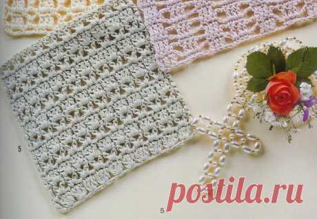 Узор крючком №5 | Natali_crochet | Яндекс Дзен