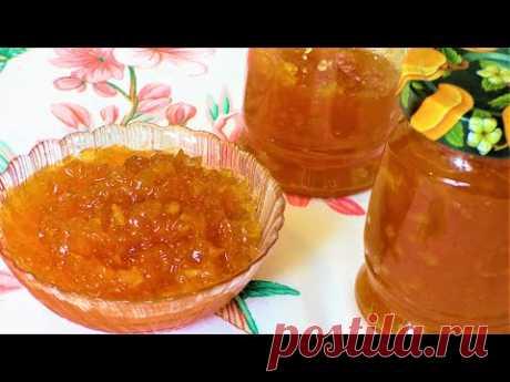 Как приготовить очень вкусный и густой, как мармелад, джем из арбузных корок. Арбузный джем.