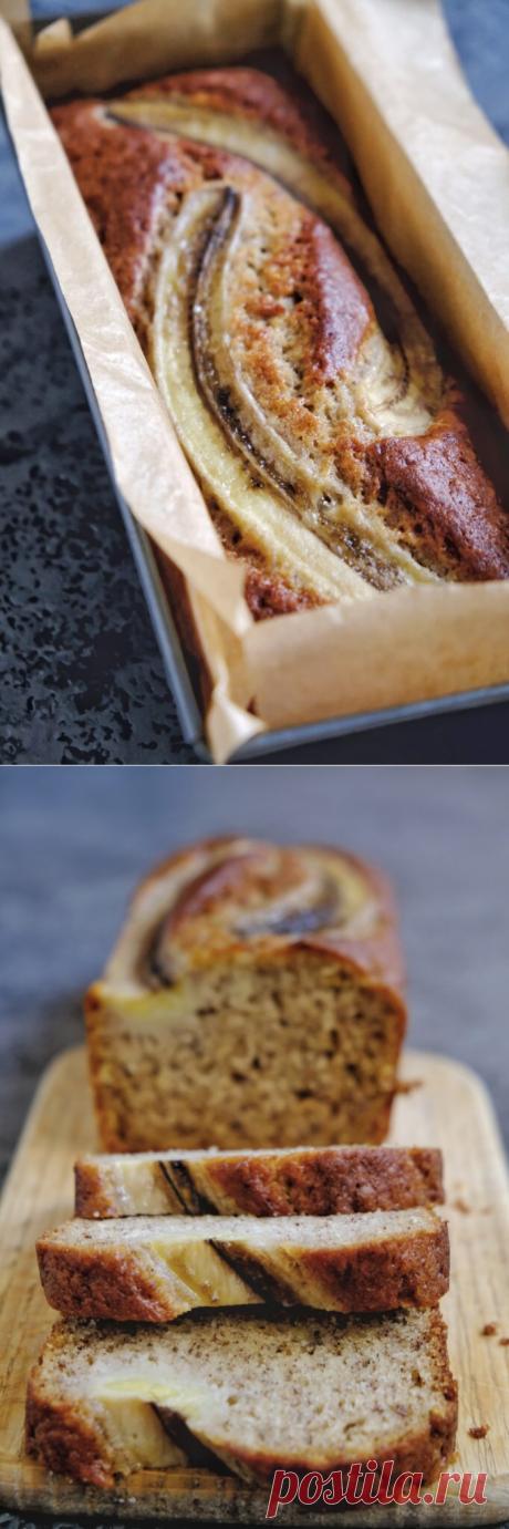Как приготовить банановый хлеб   Блог кондитера YellowMixer.com