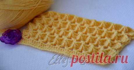 Узор Зефирка | Crochet by Ellej | Crochet by Ellej | Вязание крючком от Елены Кожухарь