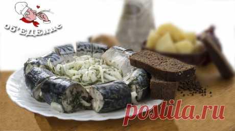 Засолка скумбрии - два способа: сагудай и засол в морозилке