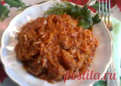 (10) Капуста тушёная в томате - пошаговый рецепт с фото. Автор рецепта Светлана . - Cookpad