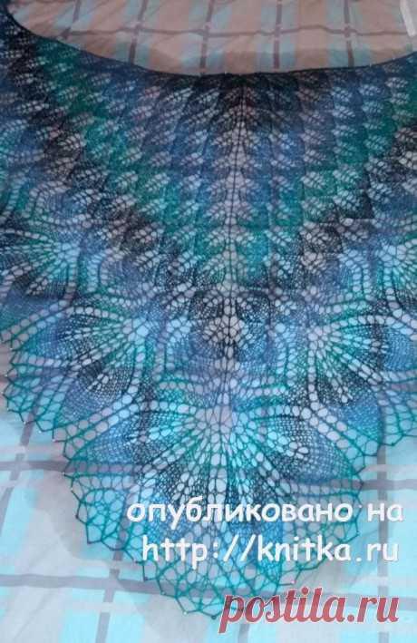 Вязаные спицами шали. Работы Екатерины Волковой, Вязание для женщин