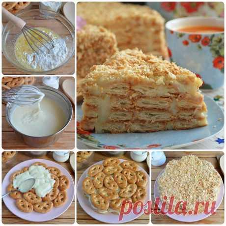 Самые проверенные рецепты - Самый вкусный торт «Светлана» без выпечки