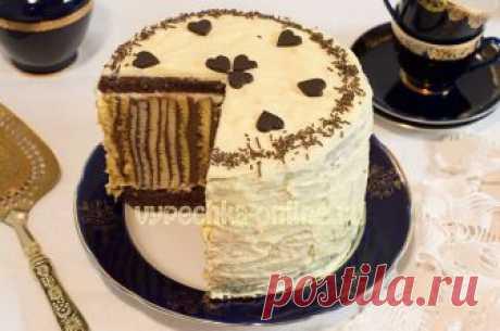 ✔️Рецепт красивого торта
