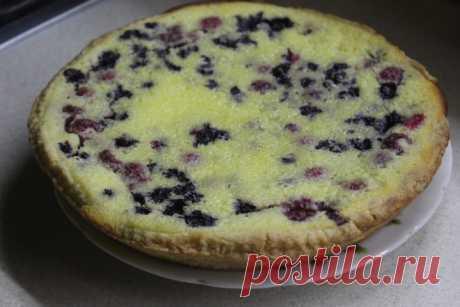 Заливной пирог с черникой и ванильно-сметанным кремом Заливной пирог с черникой и ванильно-сметанным кремом - пошаговый кулинарный рецепт приготовления с фото, шаг за шагом.