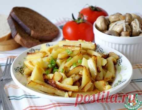 Жареный картофель по рецепту мужа – кулинарный рецепт